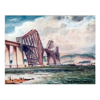 Cartão velho - construa uma ponte sobre adiante,