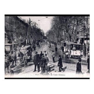Cartão velho - Cours Belsunce, Marselha