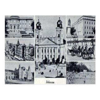 Cartão velho - Debrecen, Hungria