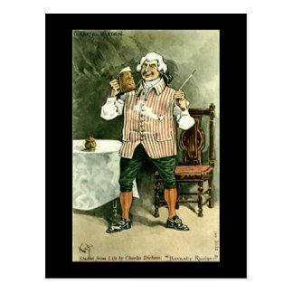 "Cartão velho, Dickens, ""Barnaby Rudge """