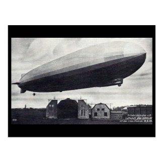 """Cartão velho - dirigível """"Graf Zepelim """""""
