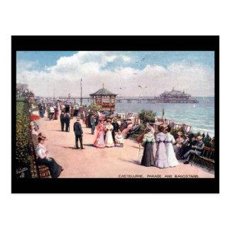 Cartão velho - Eastbourne, Sussex.