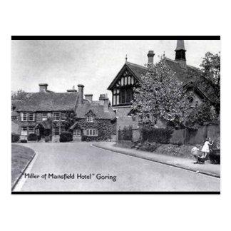 Cartão velho - Enesgar-em-Tamisa, Oxfordshire