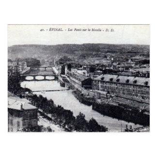 Cartão velho - Epinal, Vosges