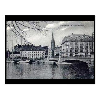 Cartão velho - Éstocolmo, suecia