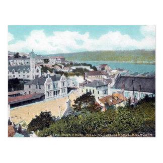 Cartão velho - Falmouth, Cornualha