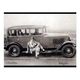 Cartão velho - Foujita