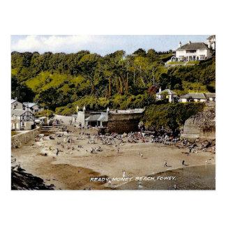 Cartão velho - Fowey, Cornualha, Inglaterra