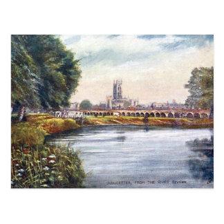 Cartão velho - Gloucester, Inglaterra