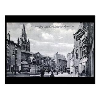 Cartão velho - Grenoble, France Cartão Postal
