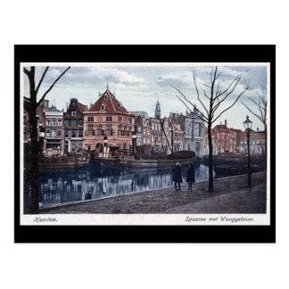 Cartão velho - Haarlem, Países Baixos