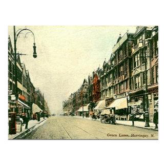 Cartão velho - Harringay, Londres