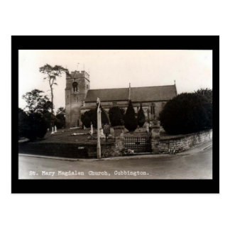 Cartão velho - igreja de Cubbington, termas de
