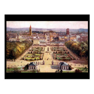 Cartão velho - Karlsruhe, Alemanha