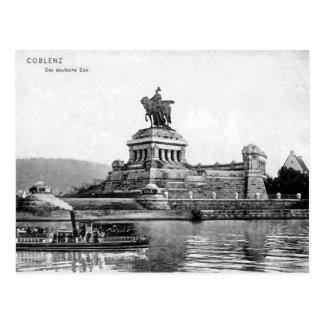 Cartão velho - Koblenz, Alemanha