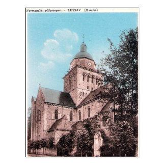 Cartão velho - Lessay, Mancha, Normandie Cartão Postal