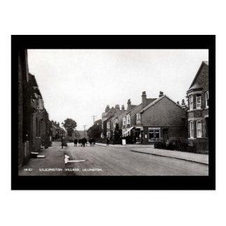 Cartão velho - Lillington, termas de Leamington