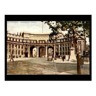 Cartão velho - Londres, Admiralty arqueia em 1937