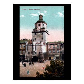 Cartão velho - Lublin, Polônia
