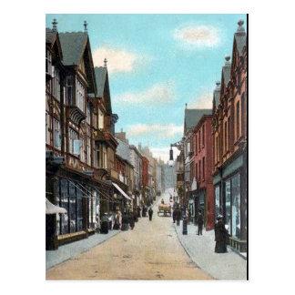 Cartão velho - mais baixo Hillgate, Stockport