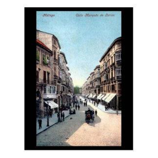 Cartão velho - Malaga, Spain.