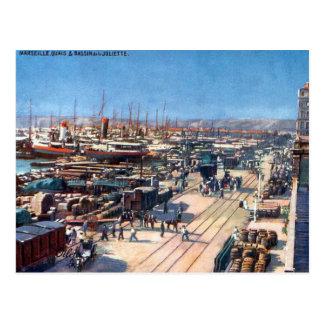 Cartão velho - Marselha