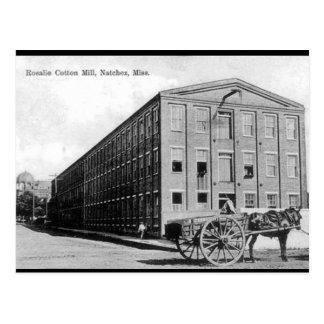 Cartão velho - Natchez, Mississippi