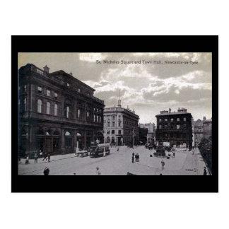 Cartão velho - Newcastle-em cima-Tyne