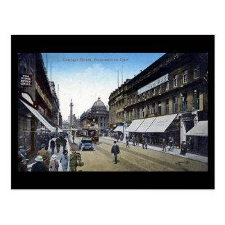 Cartão velho - Newcastle-em-Tyne
