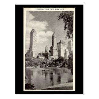 Cartão velho - Nova Iorque, Central Park