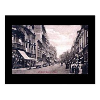 Cartão velho, Oxford, rua da rainha