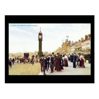Cartão velho, passeio 1904 de Weymouth