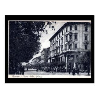 Cartão velho - Pescara, della Liberta de Corso Cartões Postais