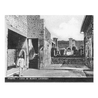 Cartão velho - Pompeia Cartão Postal