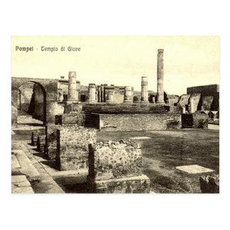 Cartão velho - Pompeia, Tempio di Giove Cartoes Postais