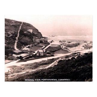 Cartão velho - Porthtowan, Cornualha