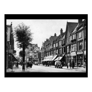 Cartão velho - Purley, Londres
