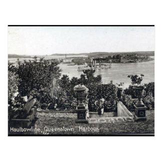 Cartão velho - Queenstown, cortiça do Co