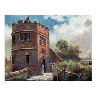 Cartão velho - rei Charles Torre, Chester