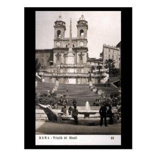 Cartão velho - Roma, etapas espanholas Cartao Postal