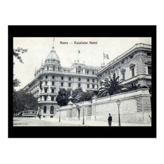 Cartão velho - Roma, hotel das maravalhas