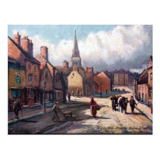 Cartão velho - rua de Salop, Wolverhampton