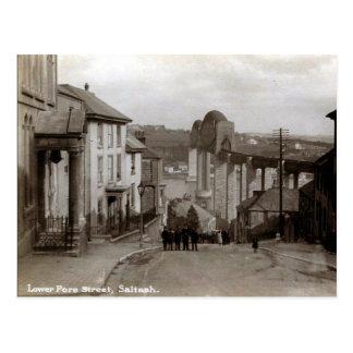 Cartão velho - Saltash, Cornualha