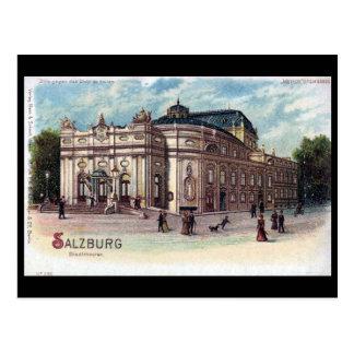 Cartão velho - Salzburg, Áustria