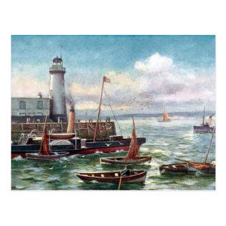 Cartão velho - Scarborough, Yorkshire
