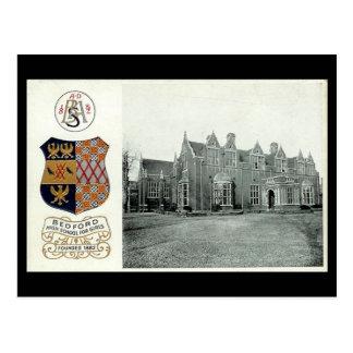 Cartão velho, segundo grau de Bedford para meninas