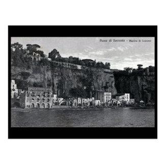 Cartão velho - Sorrento, Italia