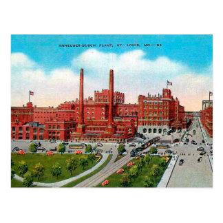 Cartão velho - St Louis, Missouri, EUA