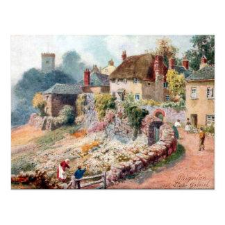 Cartão velho - Stoke Gabriel, Devon