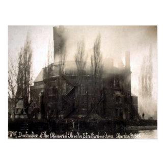 Cartão velho - Stratford-em cima-Avon